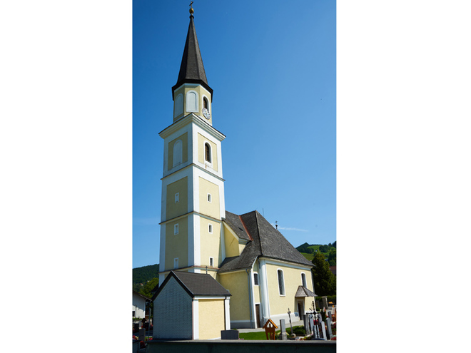 Pfarrkirche Oberwang (© Matthias Winkler)
