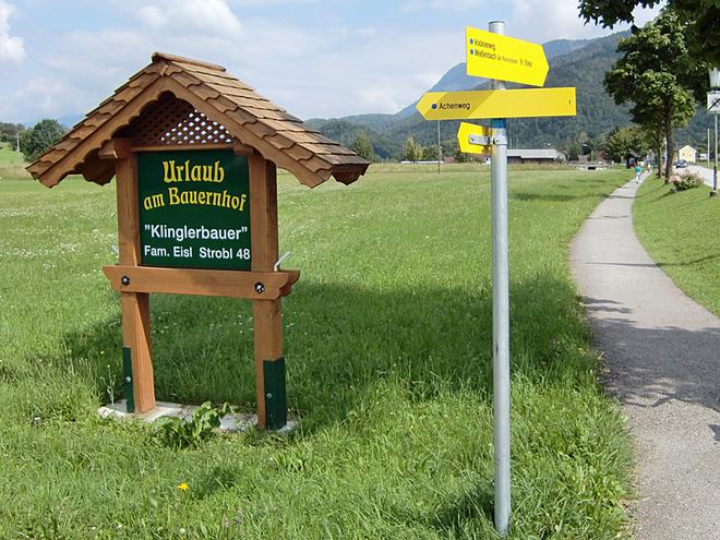 Einfahrt Klinglerbauer Urlaub am Bauernhof