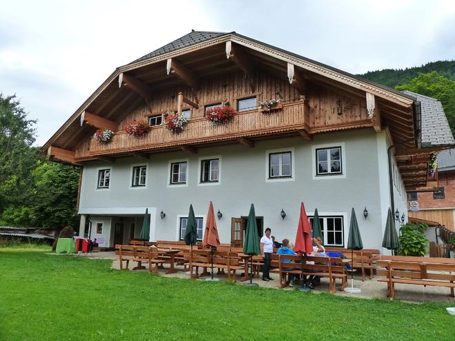 Jausenstation Holzerbauer (© WTG)