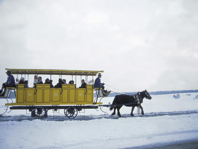 Pferdeeisenbahn Rainbach (© OÖ.Tourismus/Steinlechner)