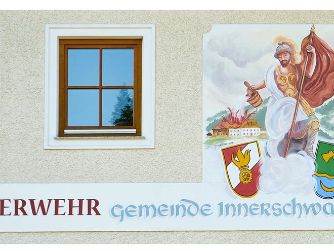 Feuerwehrhaus Innerschwand (© Matthias Winkler)