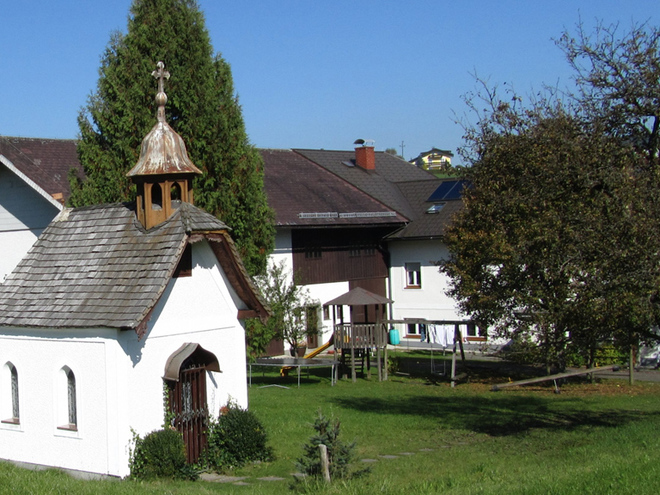 Erlachmühl Kapelle (© Annelu Wenter)