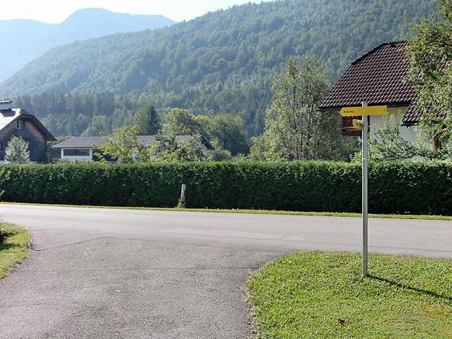 Kreuzung alte Bundesstraße