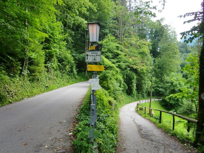 Kreuzung nach Fürberg (© WTG)