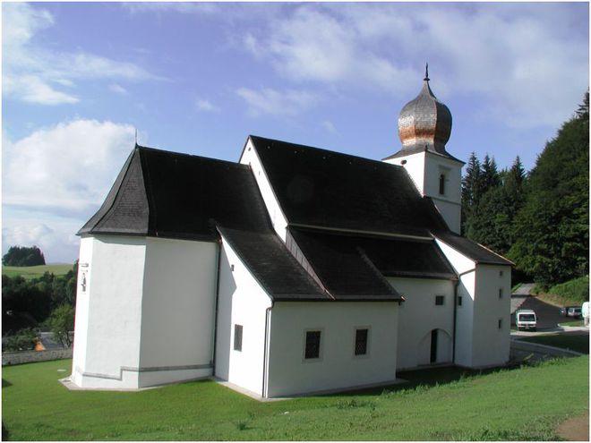St. Wolfgang am Stein Rückseite