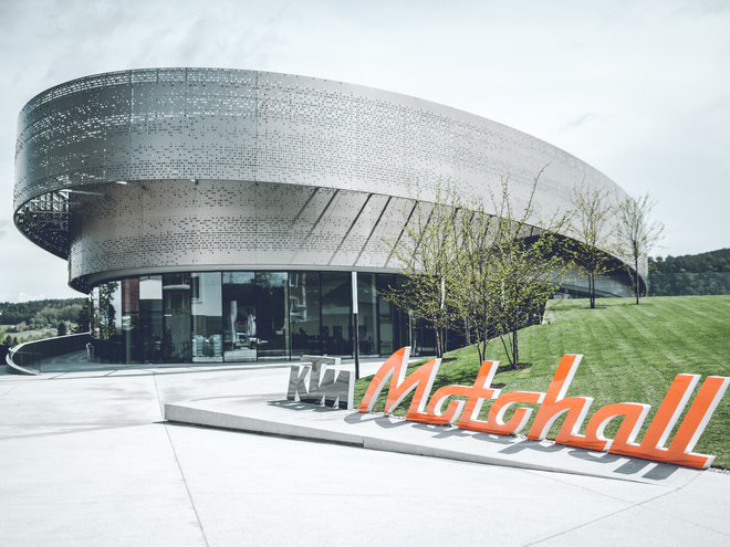 KTM Motohall (© KTM)