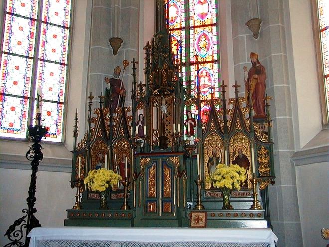 Pfarrkirche Vichtenstein (© Gemeinde Vichtenstein)