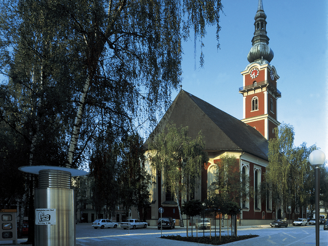 Stadtpfarrkriche St. Peter und Paul (© Stadtmarketing Ried)