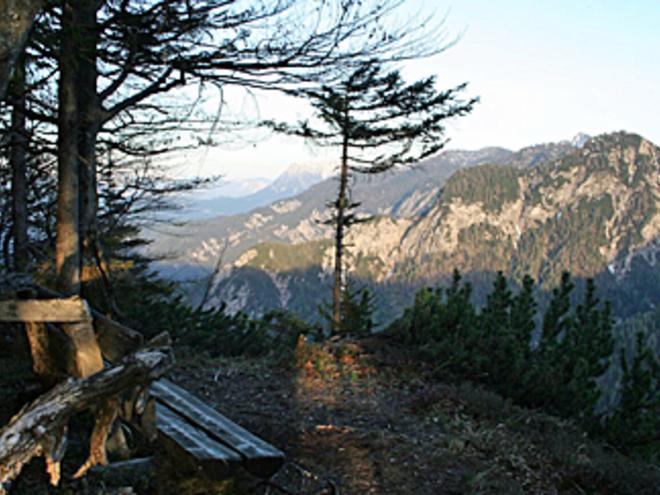 Aussicht Bärenpfadsattel (© Wolfgangsee Tourismus)