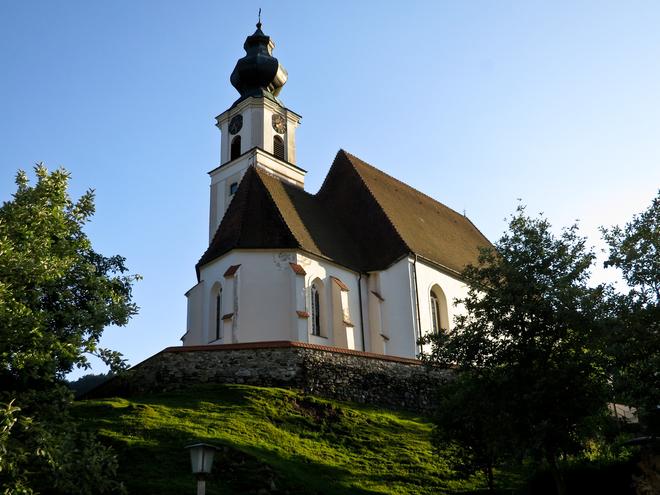 Marktkirche Engelhartszell (© WGD Donau Oberösterreich Tourismus GmbH/Kranzmayr)