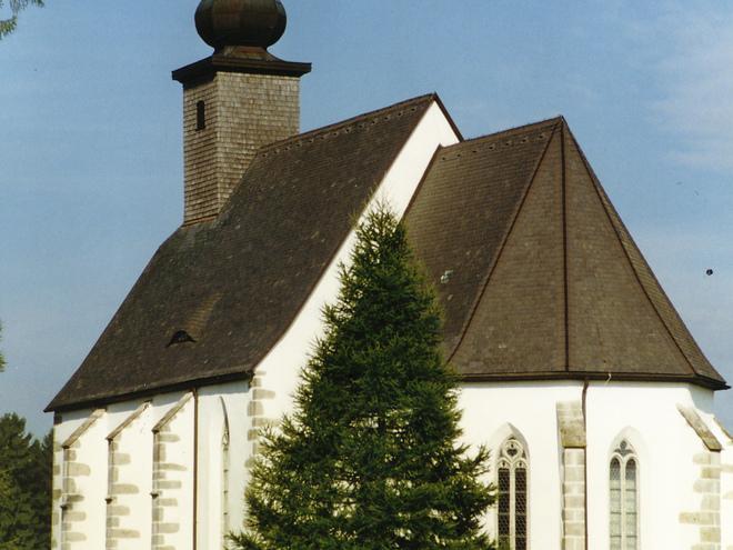 Kirche St. Michael ob Rauchenödt im Sommer (© Touristik Mühlviertler Kernland)