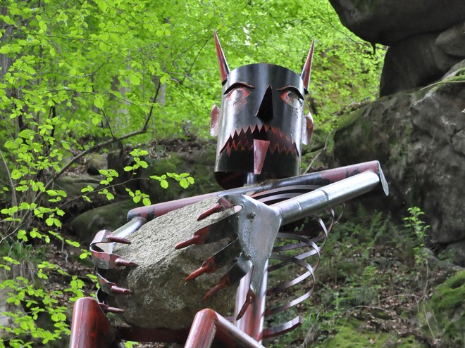 Teufel im Thurytal (© Stadtgemeinde Freistadt)