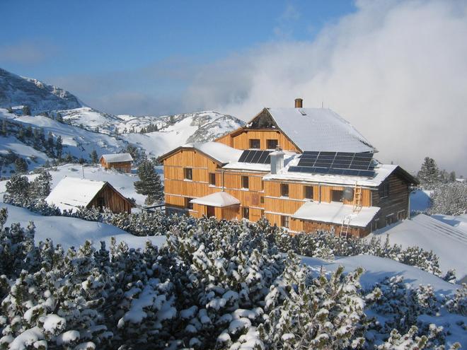 Naturfreundehütte Wiesberghaus am Dachstein (© Wiesberghaus)
