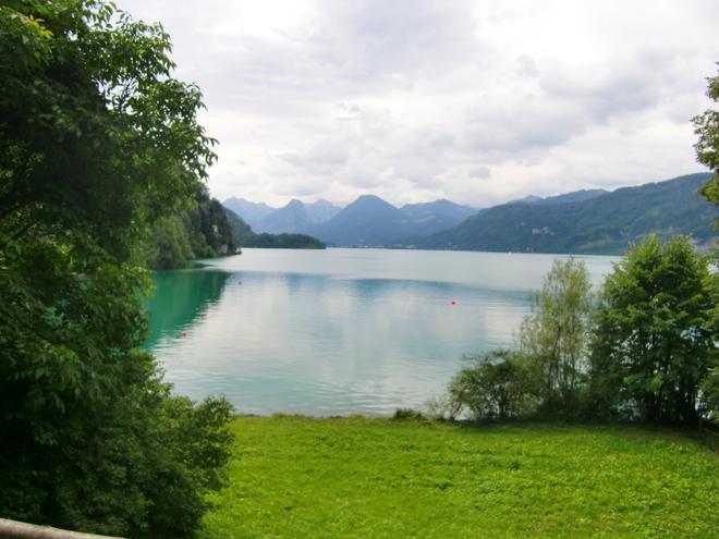 Brunnwinkl - Blick auf den Wolfgangsee (© WTG)