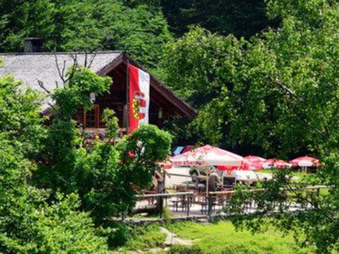 Stroblerhütte Postalm.
