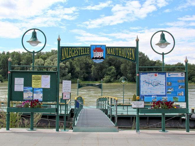 Schiffsanlegestelle-Mauthausen