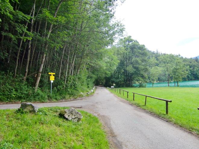 Zufahrt zum Gasthof & Hotel Fürberg (© WTG)