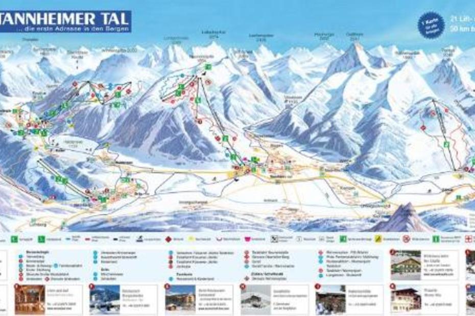 Skigebiete im Tannheimer-Tal