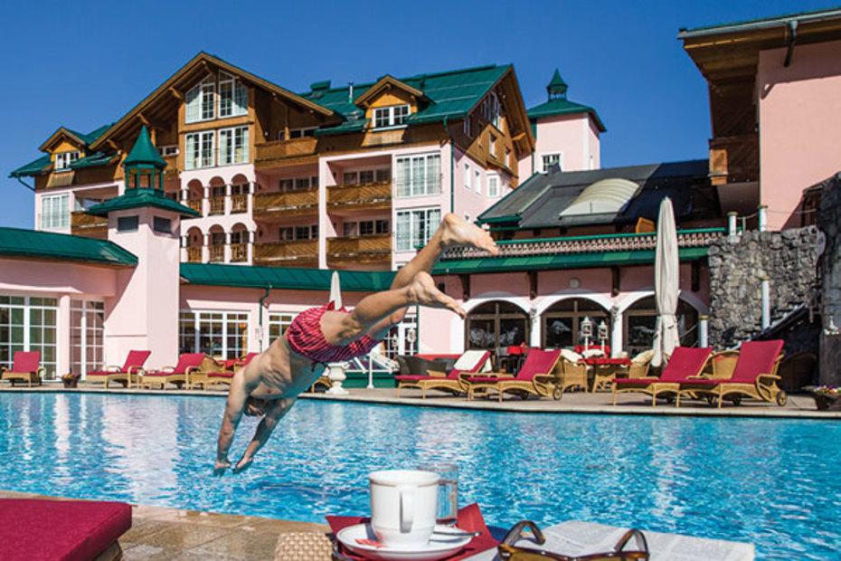 Schwimmen- im wohl schönsten Hochtal Europas