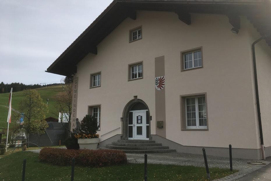 Das Gemeindeamt in Jungholz