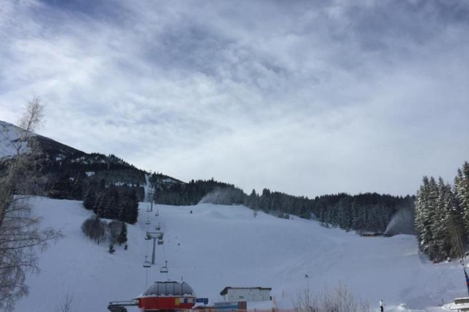 Das Skigebiet Schattwald Zöblen